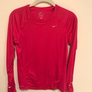 Nike Dry Fit running long sleeve